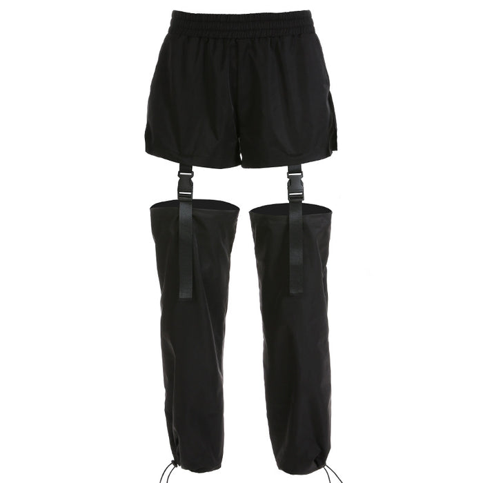 Gothic Removable schoolbag buckle ins overalls