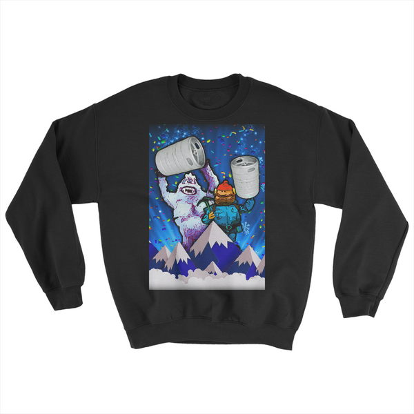 Bumble Keg Party! - JohnnyAppz , Bumble Keg Party!, AA-5454W Mens Sweatshirts
