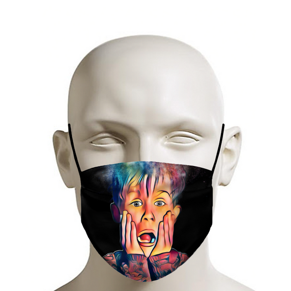 Home Alone Face Mask - JohnnyAppz , Home Alone Face Mask, Fashion Mask