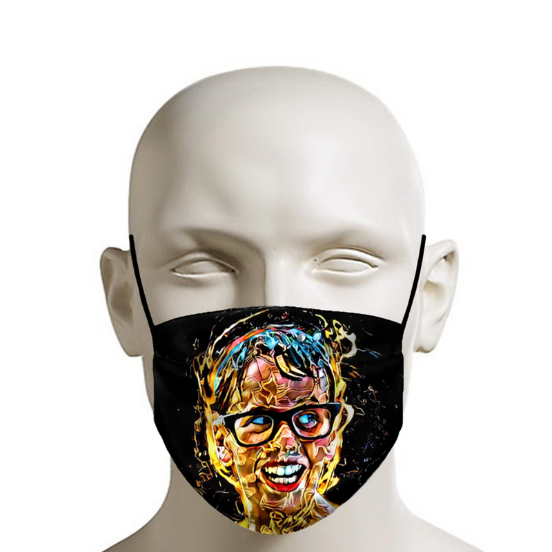 The Sandlot Smile Face Mask - JohnnyAppz , The Sandlot Smile Face Mask, Fashion Mask