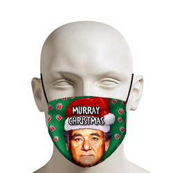 Murray Christmas Bill - Christmas Face Mask - JohnnyAppz , Murray Christmas Bill - Christmas Face Mask, Fashion Mask