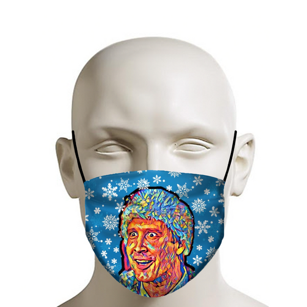 Merry Christmas Clark Griswold - Christmas Face Mask - JohnnyAppz