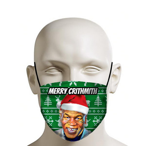 "Mike Tyson ""Merry Crithmith"" - Christmas Face Mask - JohnnyAppz"