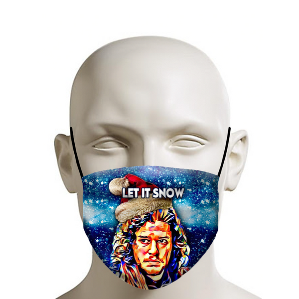 Let it Snow John Snow - Christmas Face Mask - JohnnyAppz , Let it Snow John Snow - Christmas Face Mask, Fashion Mask