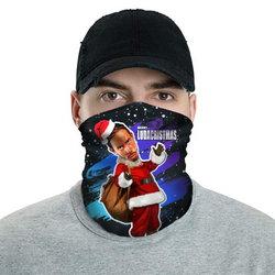 Merry LudaCristmas - Ludacris Christmas Neck Buff Face Mask - JohnnyAppz , Merry LudaCristmas - Ludacris Christmas Neck Buff Face Mask, Neck Buff