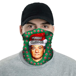 Murray Christmas Bill - Christmas Neck Buff Face Mask - JohnnyAppz , Murray Christmas Bill - Christmas Neck Buff Face Mask, Neck Buff
