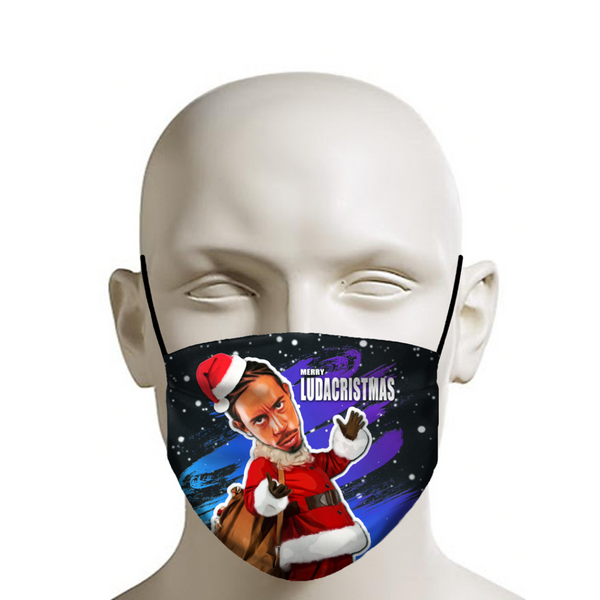 Merry LudaCristmas - Ludacris Christmas Face Mask - JohnnyAppz
