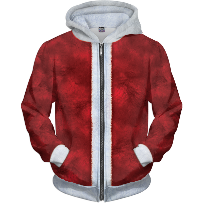 The Ultimate Santa Claus Christmas Costume! - JohnnyAppz , The Ultimate Santa Claus Christmas Costume!, Hoodies