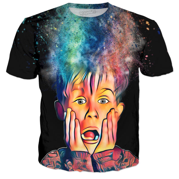 Home Alone Color Shock (Black) - JohnnyAppz , Home Alone Color Shock (Black), T-Shirts