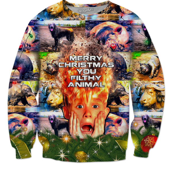 Home Alone & Filthy Animals - JohnnyAppz , Home Alone & Filthy Animals, Sweatshirts