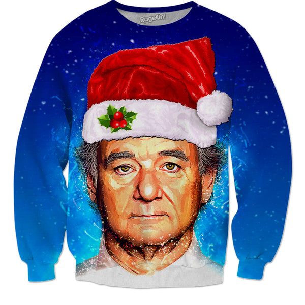 Murray Christmas (Bill Murray Christmas Sweater) - JohnnyAppz , Murray Christmas (Bill Murray Christmas Sweater), Sweatshirts