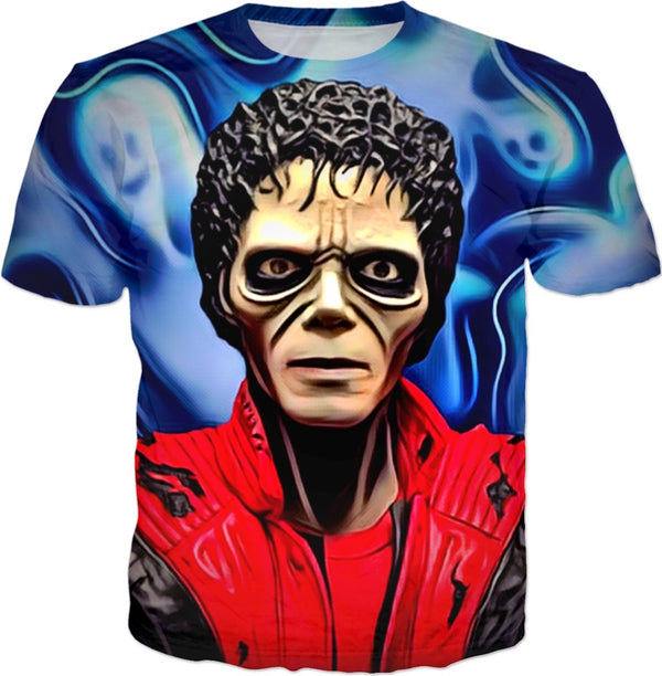 Halloween MJ Thriller & Ghosts - JohnnyAppz , Halloween MJ Thriller & Ghosts, T-Shirts