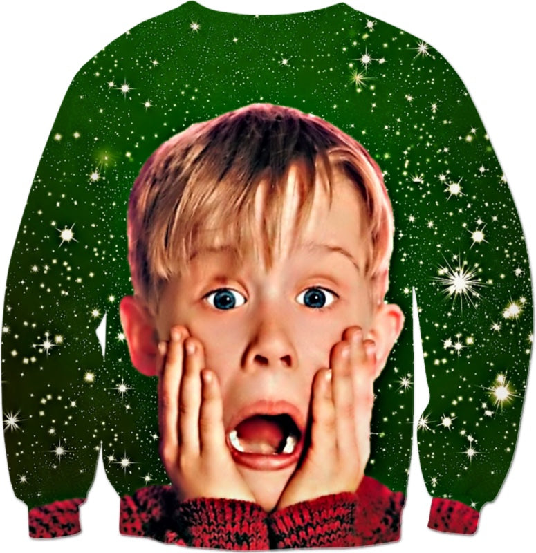 Home Alone Christmas Party - JohnnyAppz , Home Alone Christmas Party, Sweatshirts