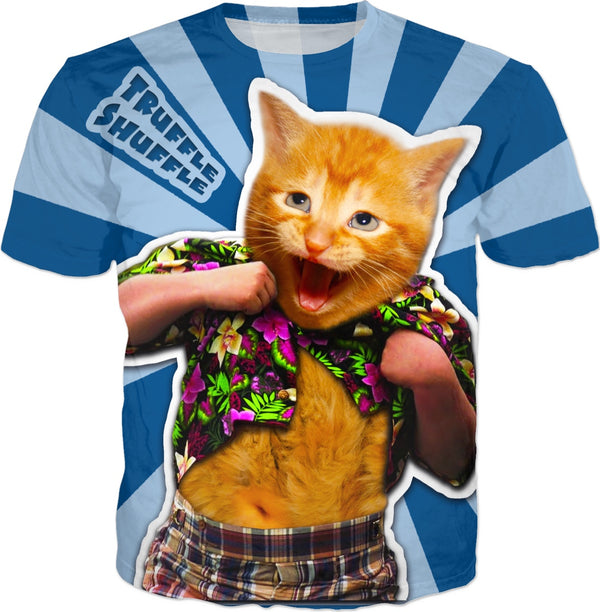 Goonies Cat (with title) - JohnnyAppz , Goonies Cat (with title), T-Shirts