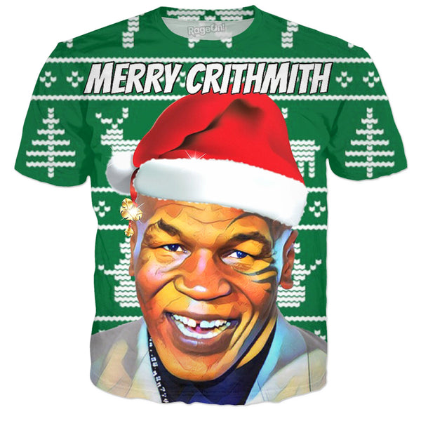 Merry Crithmith Tyson (T-Shirt & More) - JohnnyAppz , Merry Crithmith Tyson (T-Shirt & More), T-Shirts