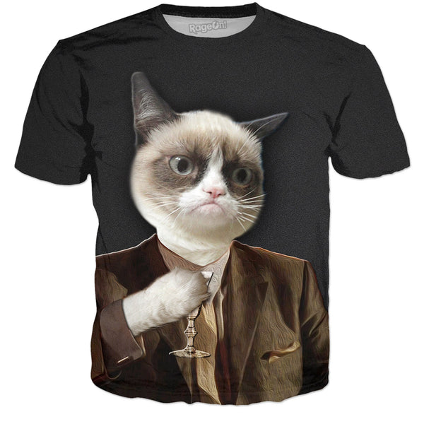 Tommy Cat Goodfellas - No Text - JohnnyAppz , Tommy Cat Goodfellas - No Text, T-Shirts