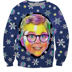 Merry Christmas Ralphie! - JohnnyAppz , Merry Christmas Ralphie!, Sweatshirts