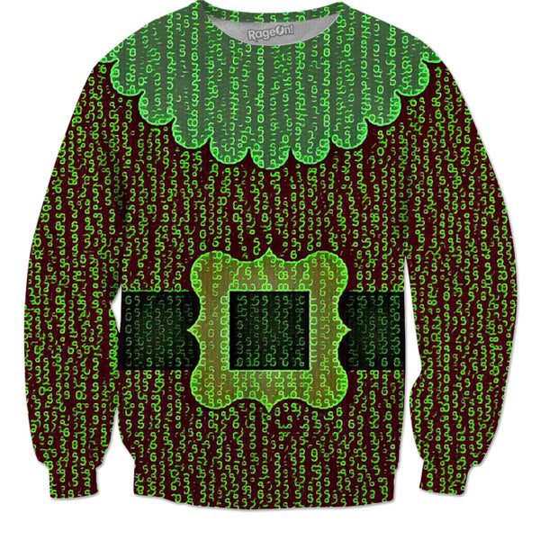 The Matrix Santa Clause - JohnnyAppz , The Matrix Santa Clause, Sweatshirts