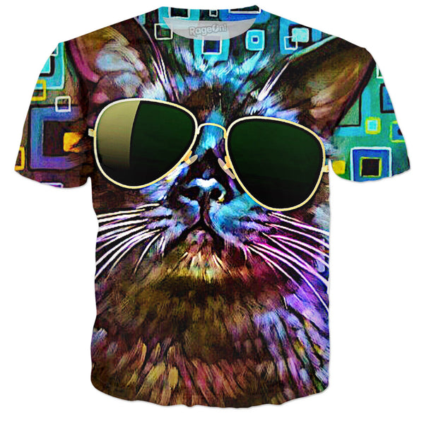 That Cool Cat - JohnnyAppz , That Cool Cat, T-Shirts