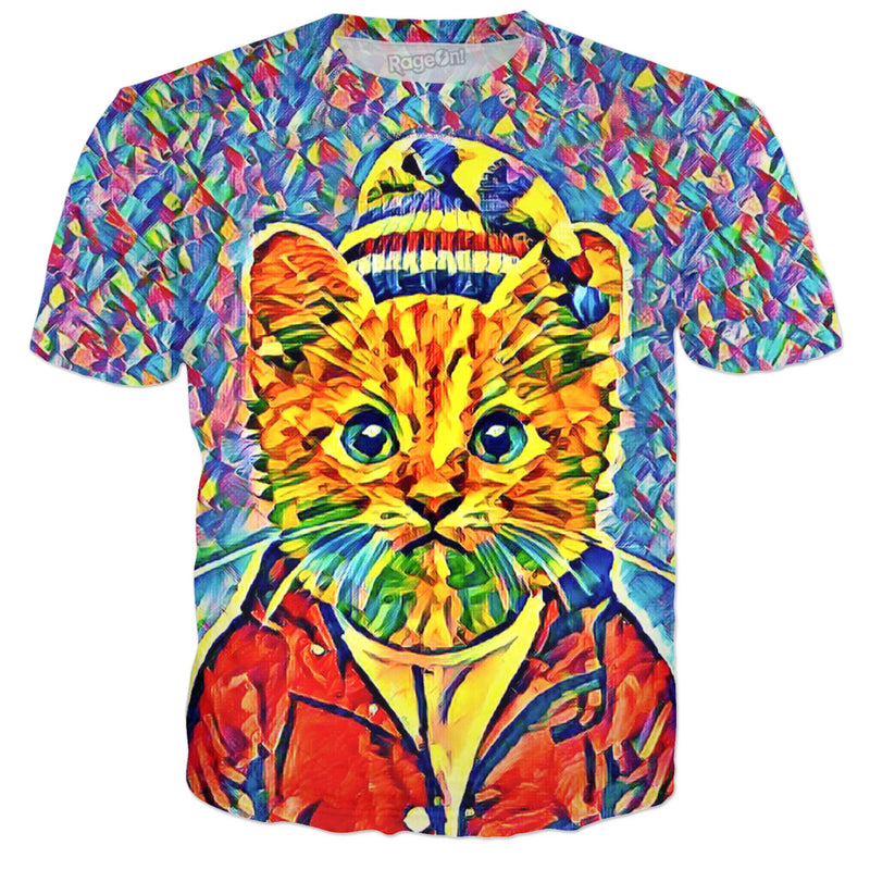 Vibing Cat (T-Shirt & Most Products) - JohnnyAppz , Vibing Cat (T-Shirt & Most Products), T-Shirts