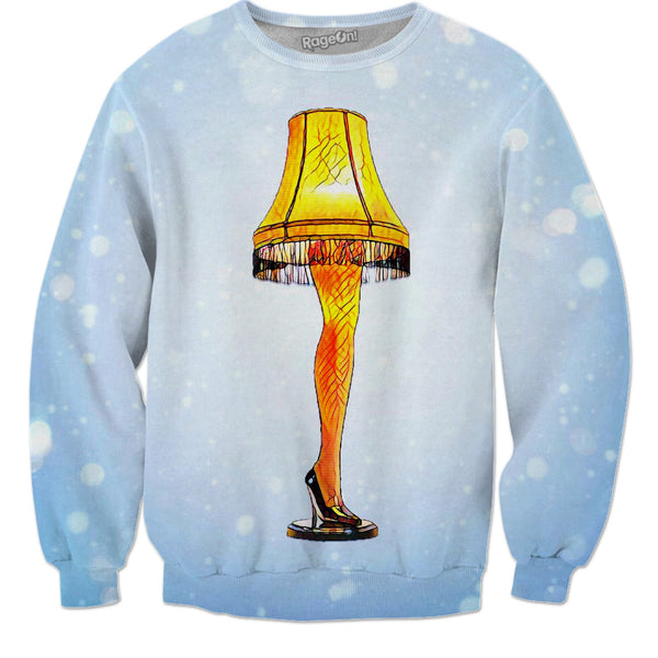 Christmas Story Leg Lamp - JohnnyAppz , Christmas Story Leg Lamp, Sweatshirts