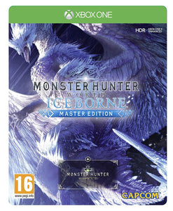Monster Hunter World Iceborne Master Edition SteelBook (Xbox One)