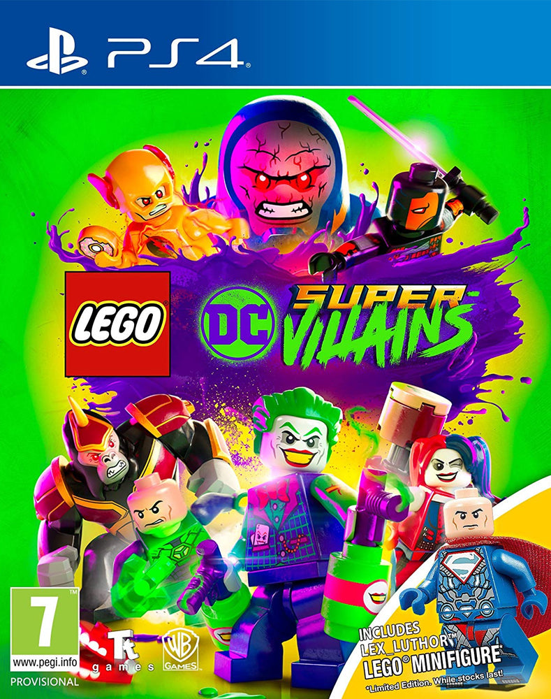 LEGO DC Super-Villains Mini Figure Edition (PS4)