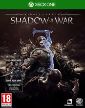 Load image into Gallery viewer, Middle - Earth: Shadow Of War Includes Forge your Army (Xbox One)