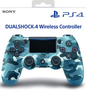 Load image into Gallery viewer, Sony DualShock 4 Wireless Controller for PlayStation 4 - Blue Camouflage