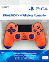 Load image into Gallery viewer, Sony PlayStation DualShock 4 Controller - Sunset Orange