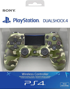 Sony PlayStation DualShock 4 Controller - Green Camouflage