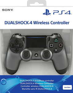 Sony PlayStation DualShock 4 Controller - Steel Black