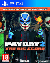 Load image into Gallery viewer, Payday 2 The Big Score (PS4)