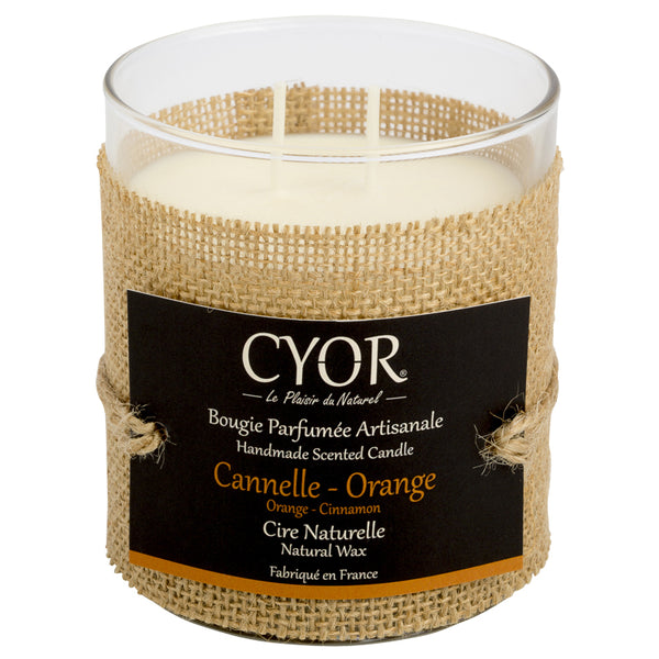 Bougie - Cannelle / orange - 240 gr - Bougie Canderella