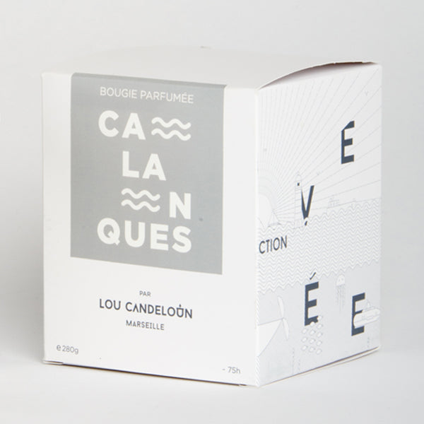 Bougie - Calanques - 120 Gr - Bougie Canderella