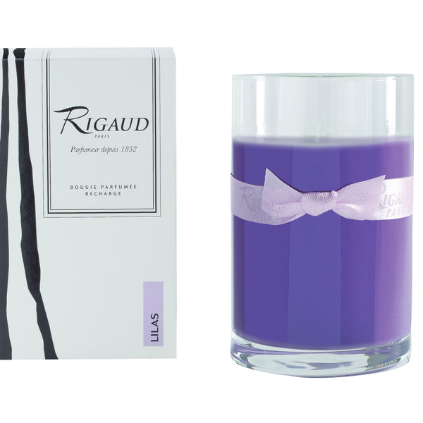 Bougie - Lilas - recharge - Bougie Canderella