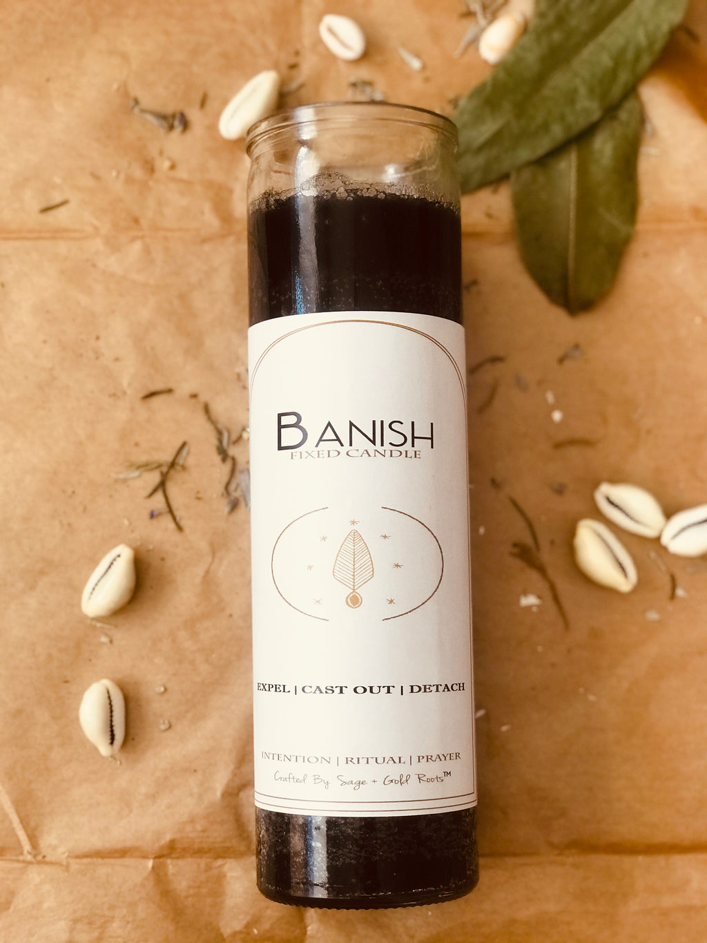 BANISH | Conjure Fixed Candle