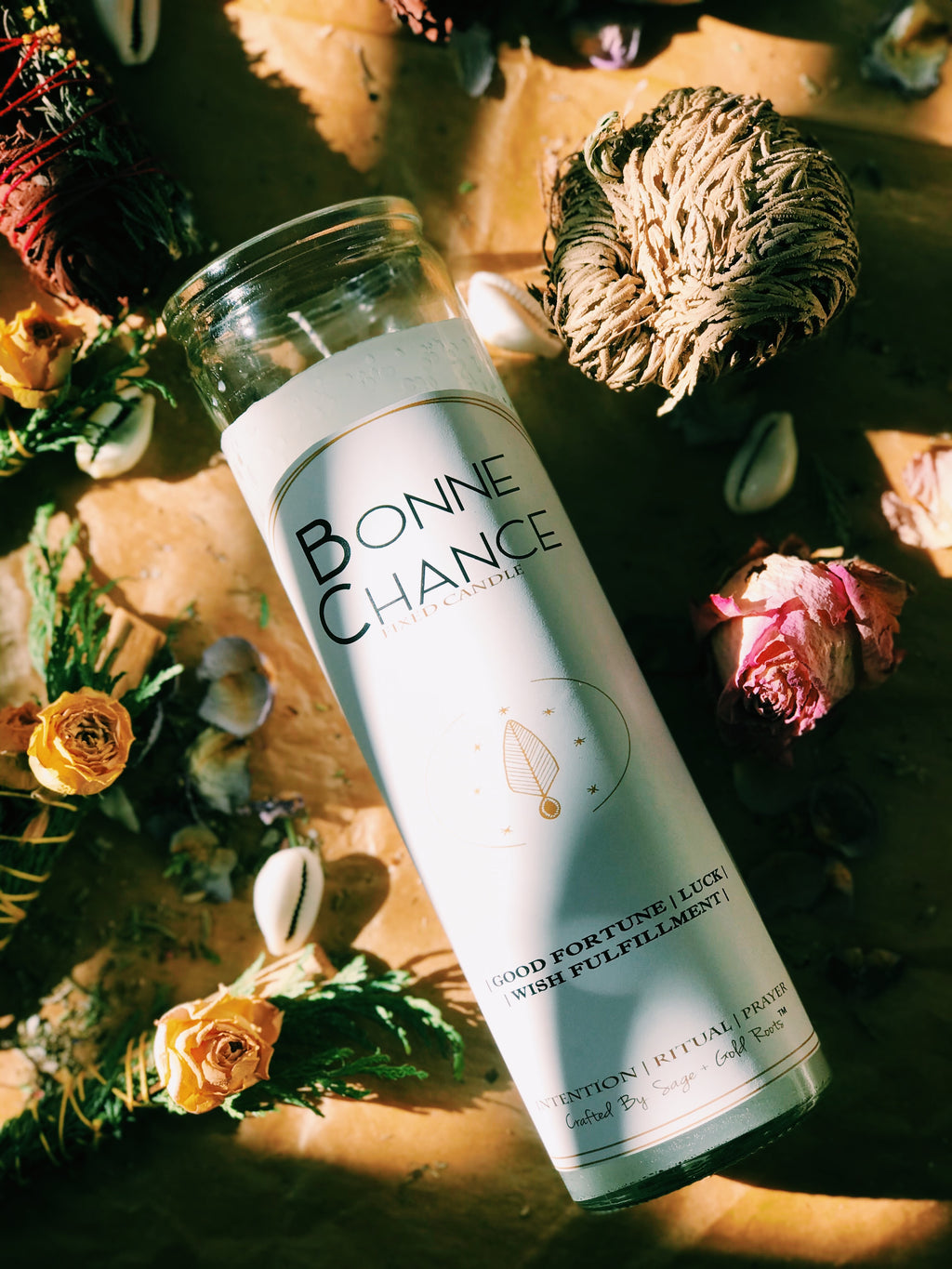 Bonne Chance | Good Fortune Conjure Fixed Candle