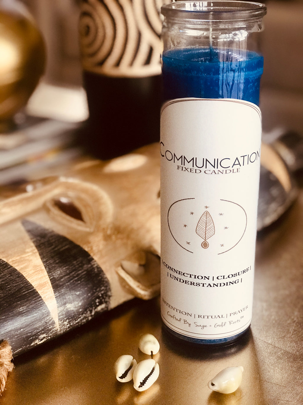 COMMUNICATION | Fixed Conjure Candle