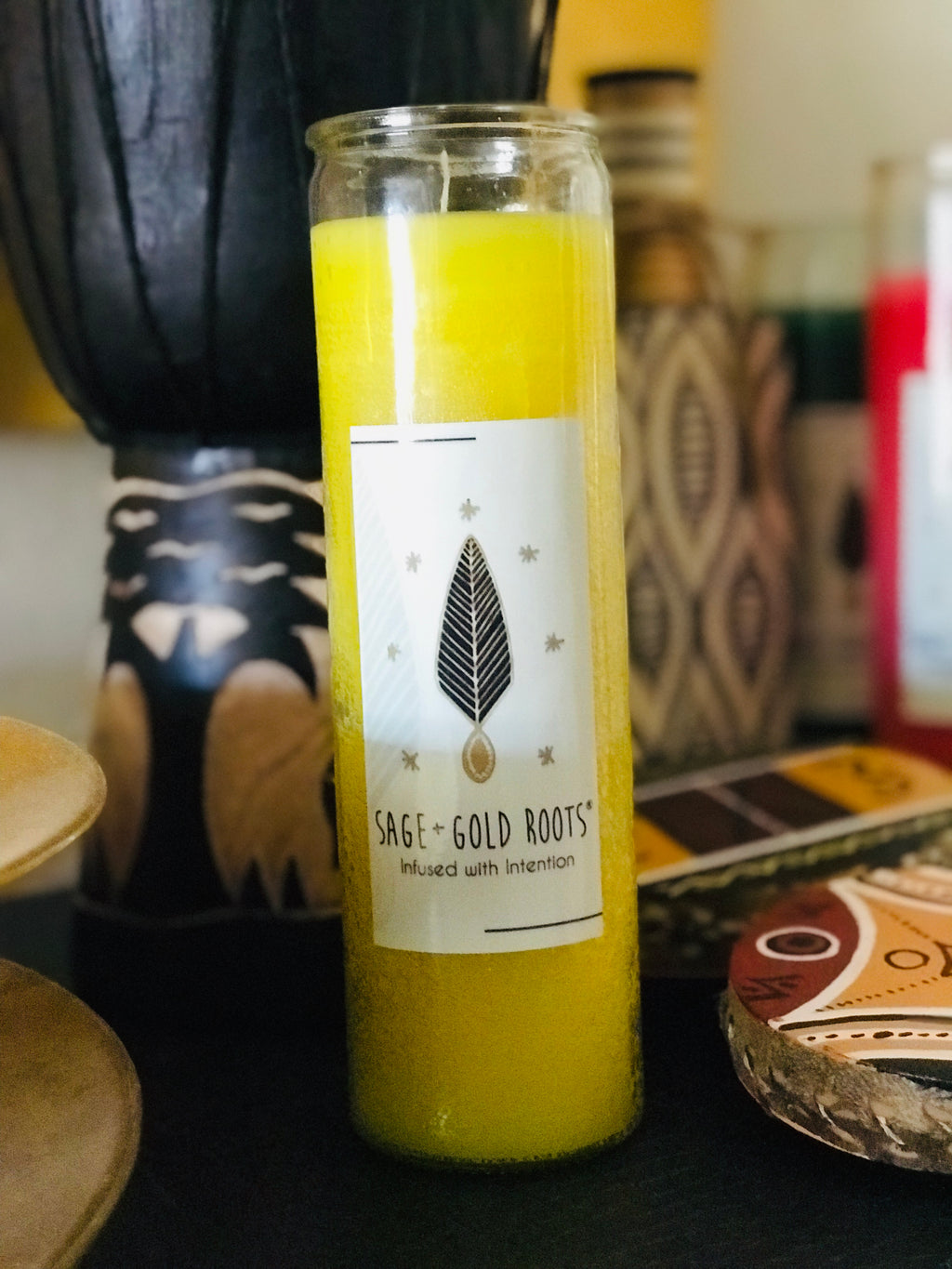 CROWN OF CREATIVITY | Intention Infused Fixed Candle