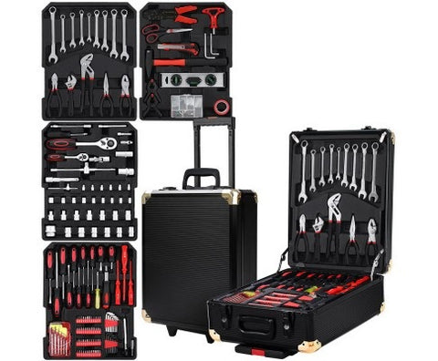 816 pieces of tools and case