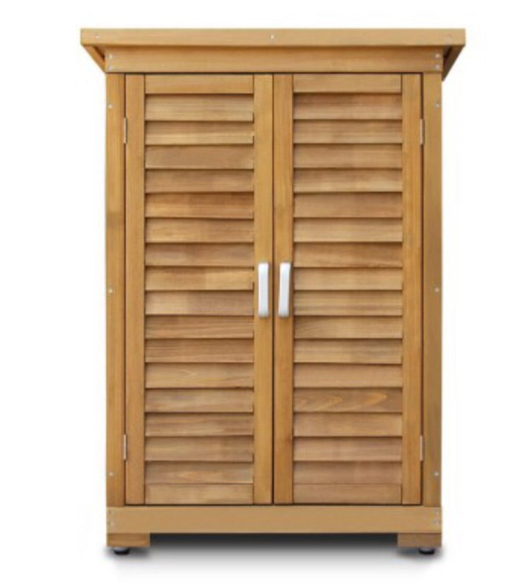 fir wood Outdoor Storage Cabinet
