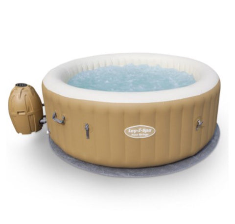 Leatheroid cover inflatable spa