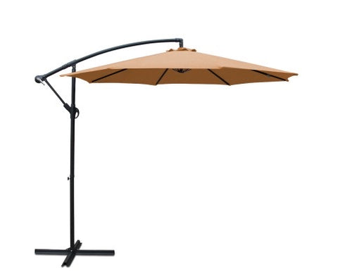 3M Cantilevered Outdoor Umbrella - Beige
