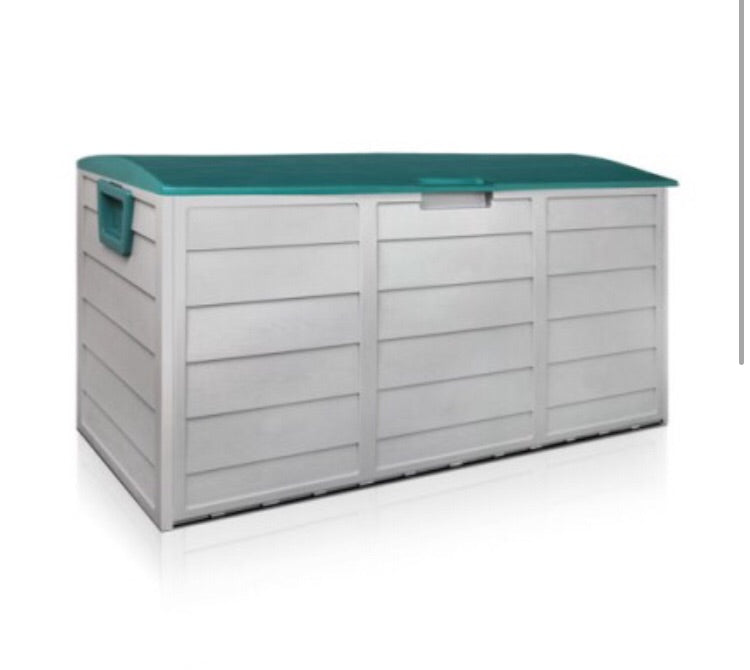290L Outdoor Lockable Storage - Green
