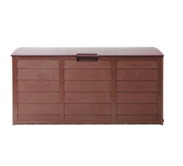 290L Outdoor Lockable Storage - Chocolate