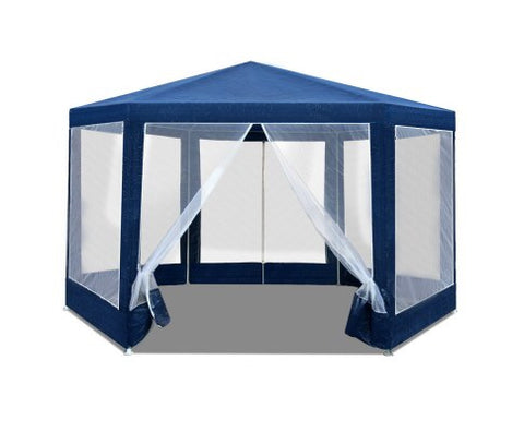 Hexagonal Gazebo - Navy
