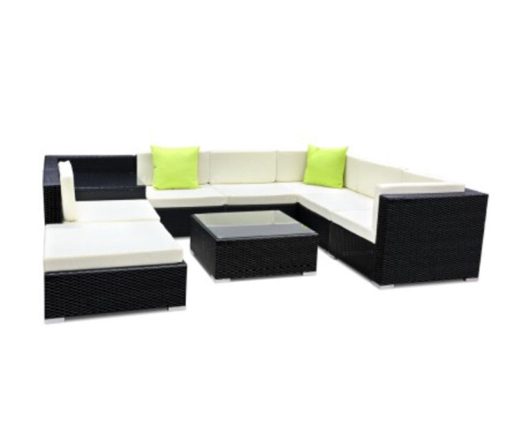9 Piece Outdoor Furniture Set