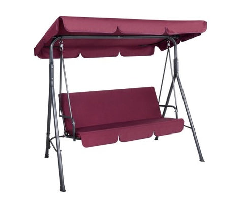 Swing chair - Wine red