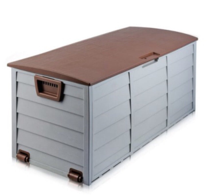 290L Outdoor Lockable Storage - Brown